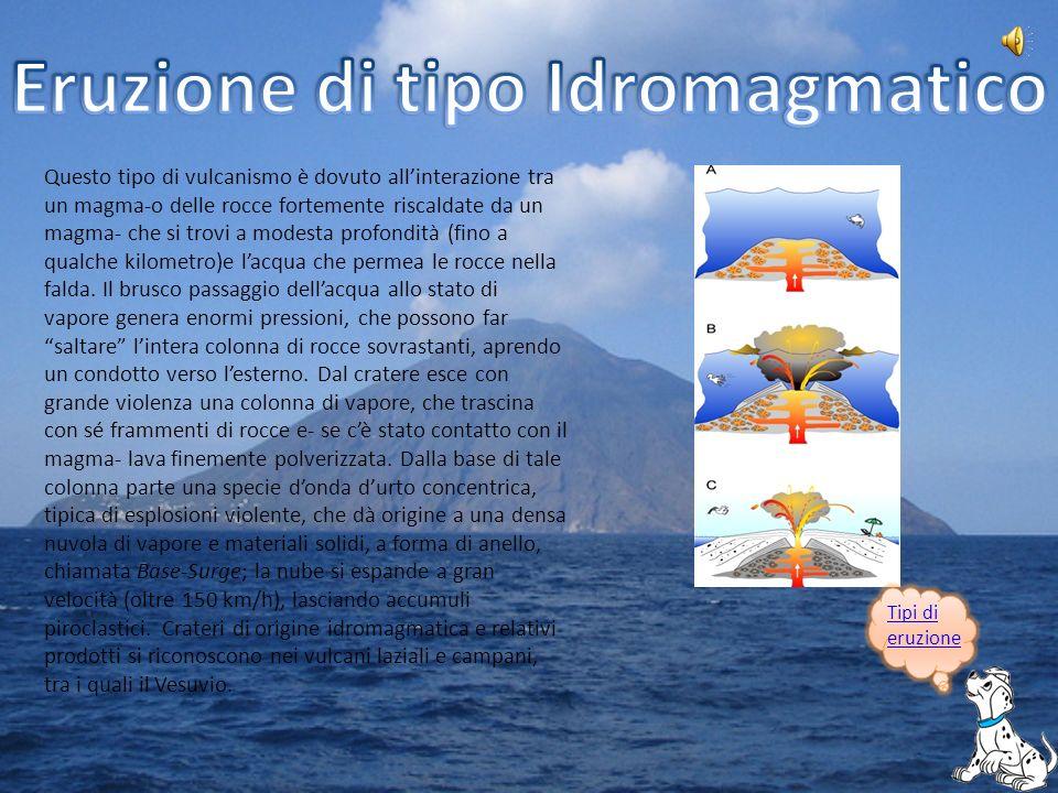 Oltre alle eruzioni esistono altri fenomeni legati allattività vulcanica.