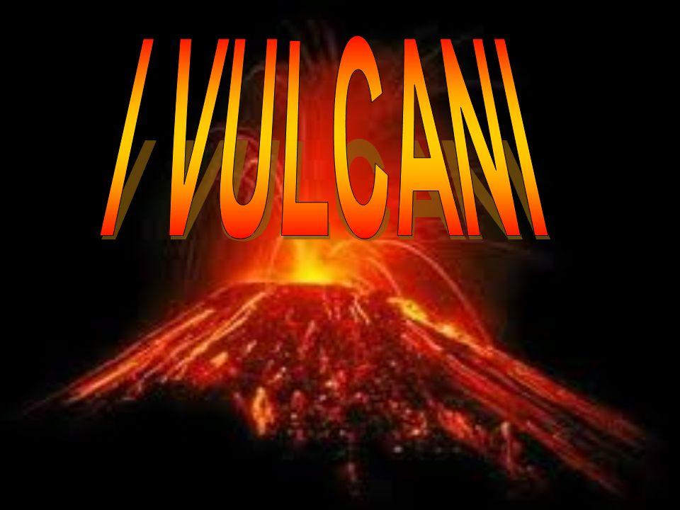 Coni di scorie Un cono di scorie è una collinetta di forma conica, formata da frammenti vulcanici che si sono accumulati attorno (e, in genere, nella direzione sottovento) ad una bocca eruttiva.