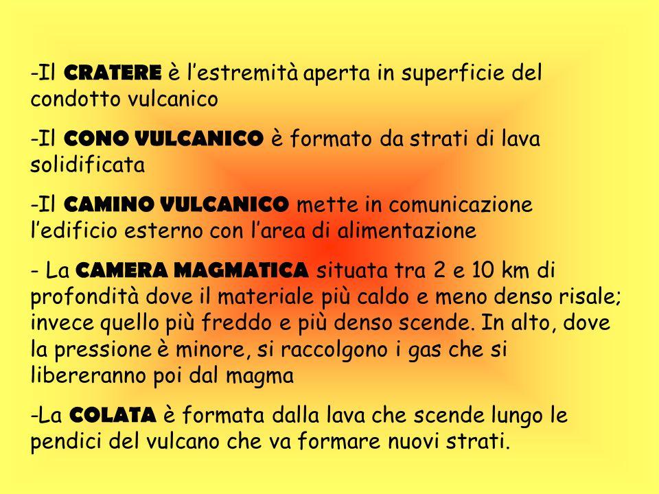 I vulcani in Italia Concentrazioni di vulcani si trovano nel Mediterraneo e in particolare in Italia, dove ai margini del Mar Tirreno e del Mar Ionio si trovano 5 vulcani attivi.