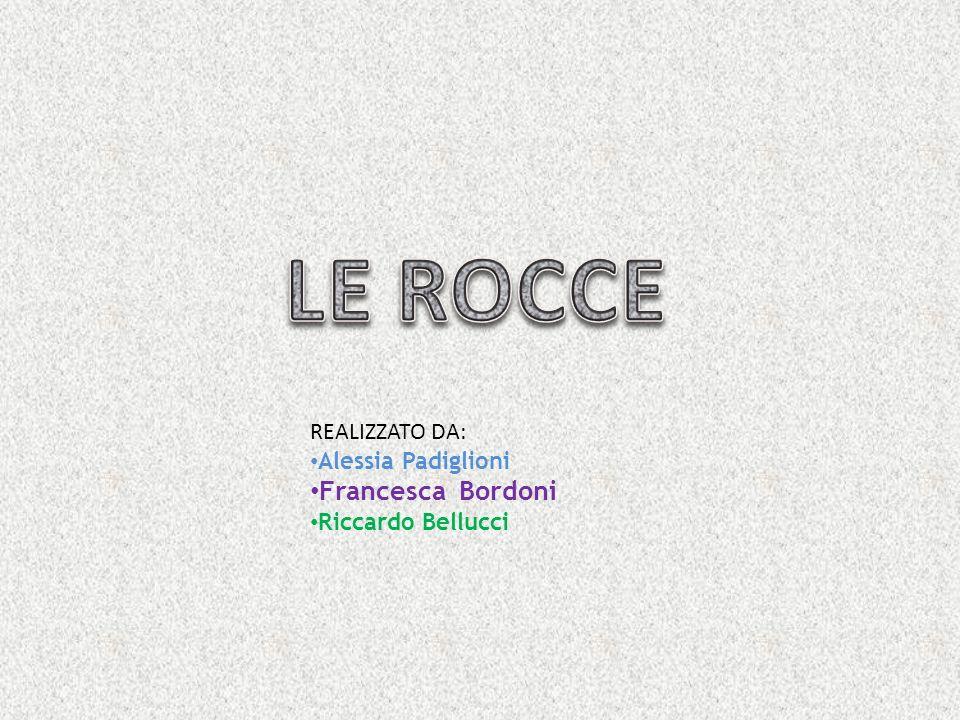REALIZZATO DA: Alessia Padiglioni Francesca Bordoni Riccardo Bellucci