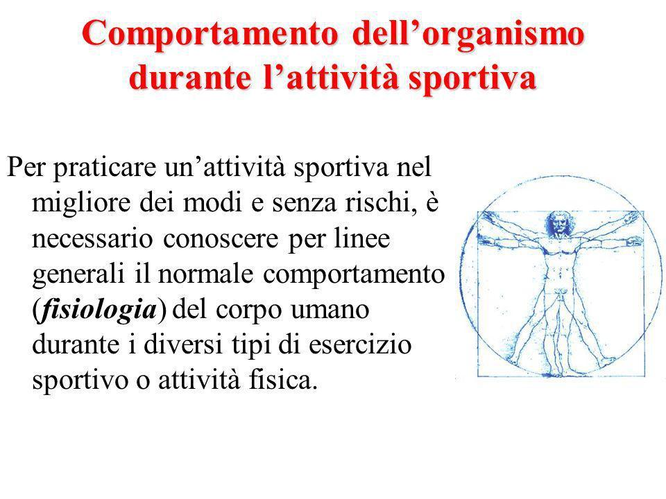 I tre gruppi di sport Ogni attività sportiva ha caratteristiche ben definite; in questo senso, gli sport possono essere classificati in 3 grandi gruppi: n Sport di Resistenza n Sport di Potenza n Sport Misti