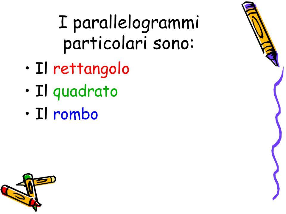 Il rettangolo È un parallelogramma che ha tutti gli angoli retti e congruenti.