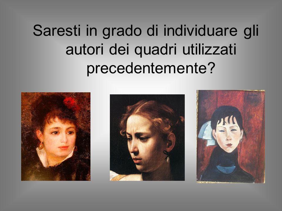 Il primo quadro che viene proposto è quello Renoir.