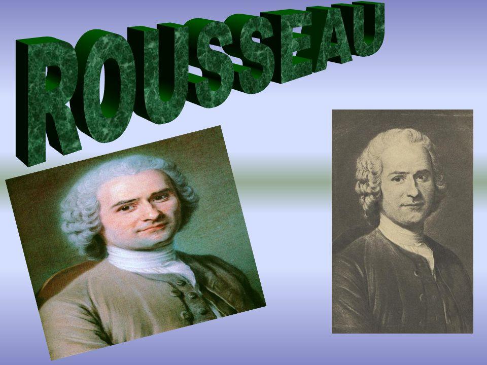 Jean-Jacques Rousseau (Ginevra, 28 giugno 1712 – Ermenonville, 2 luglio 1778) è stato uno scrittore, filosofo e musicista svizzero.Ginevra28 giugno1712Ermenonville2 luglio1778scrittore filosofomusicistasvizzero Le idee politiche di Rousseau influenzarono la Rivoluzione Francese, lo sviluppo delle teorie socialiste, e la crescita del nazionalismo.