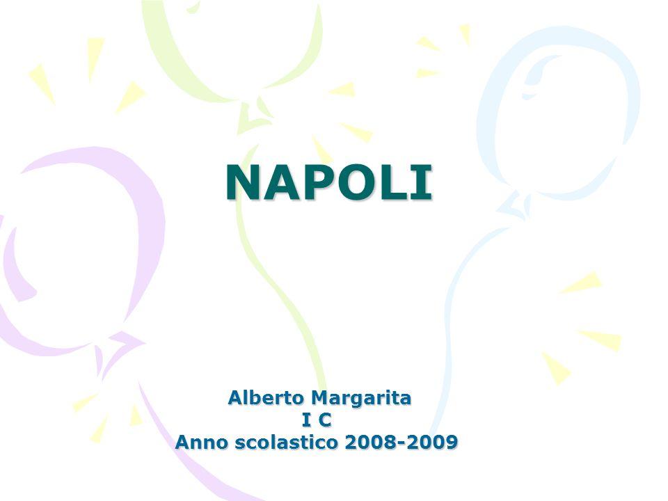 NAPOLI Alberto Margarita Alberto Margarita I C Anno scolastico 2008-2009
