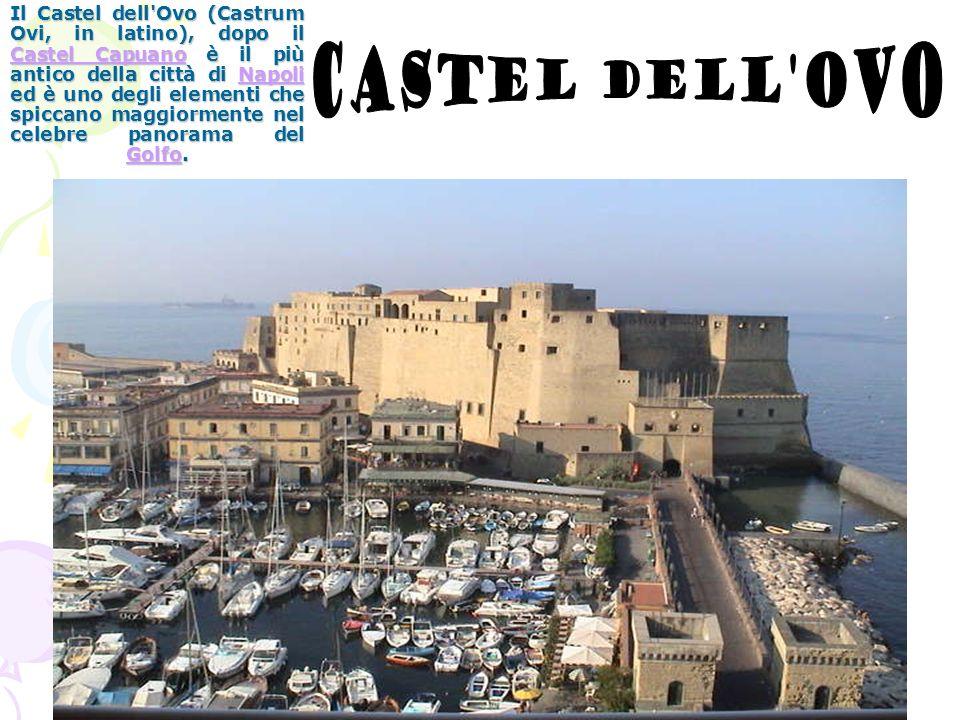 Il Castel dell'Ovo (Castrum Ovi, in latino), dopo il Castel Capuano è il più antico della città di Napoli ed è uno degli elementi che spiccano maggior