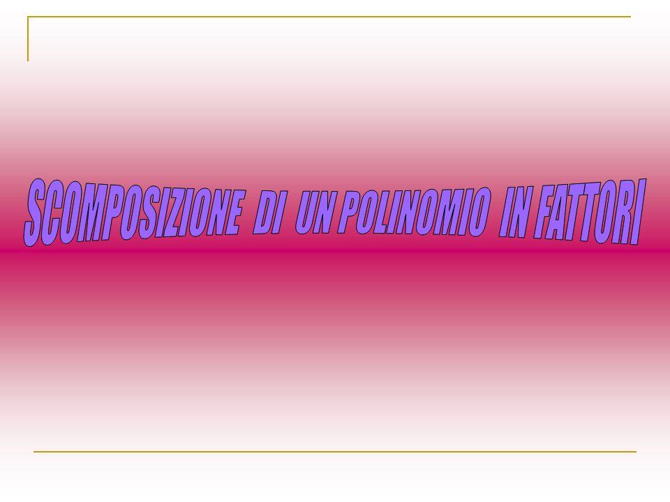 PREREQUISITI Monomi e operazioni con i monomi MCD e mcm di più monomi Polinomi e operazioni con i polinomi