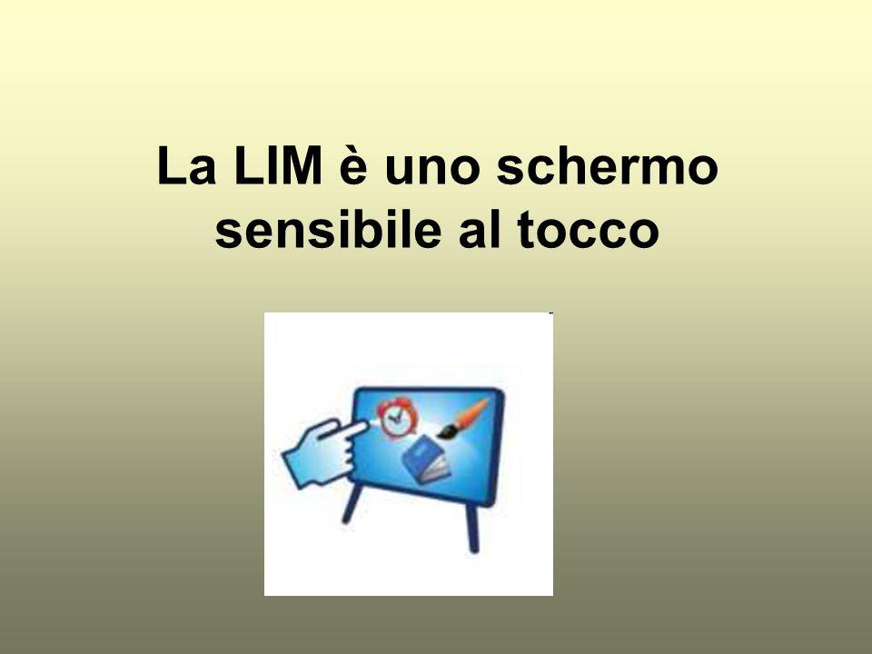 La LIM è multimediale Su uno stesso supporto più mezzi di comunicazione