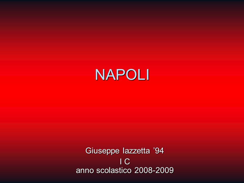 NAPOLI Giuseppe Iazzetta 94 I C anno scolastico 2008-2009