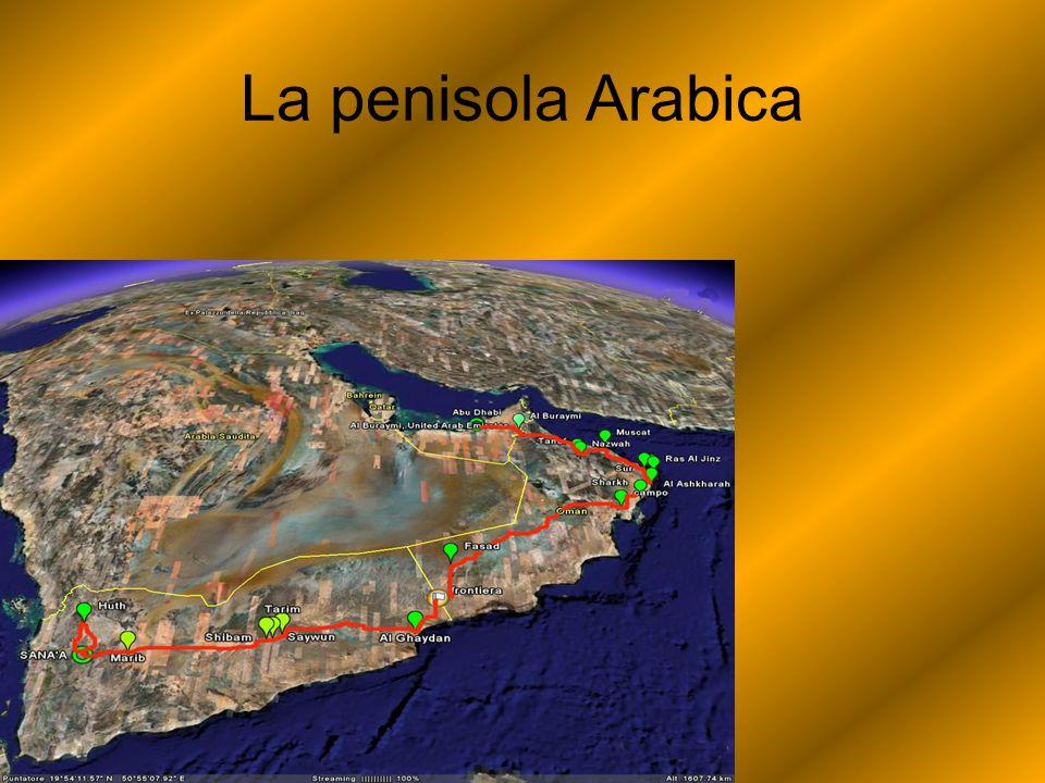 Confina con il golfo Persico a est; con loceano Indiano a sud; con il deserto Siriano e con il mar Rosso a ovest; con la Mesopotamia a nord.