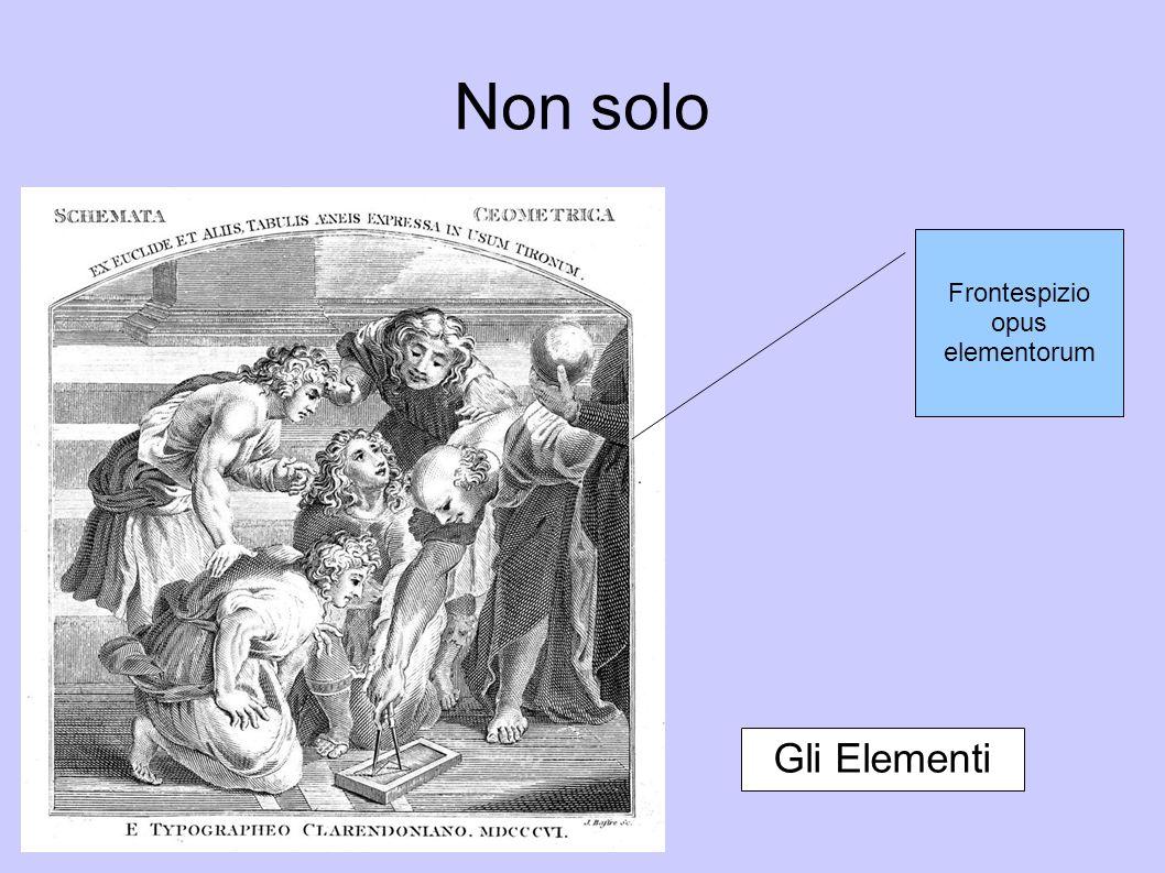 Non solo Euclide