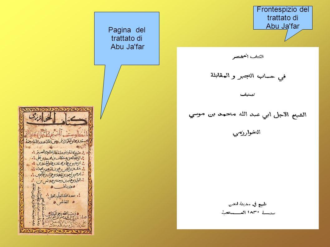 Abu ja'far Muhammed ibn musa al Khwarizmi