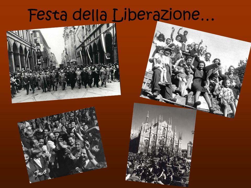 Festa della Liberazione…