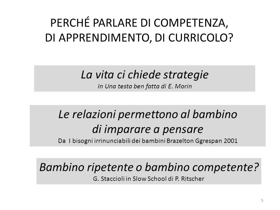 Rif Guasti L., Didattica per competenze Competenza Es.