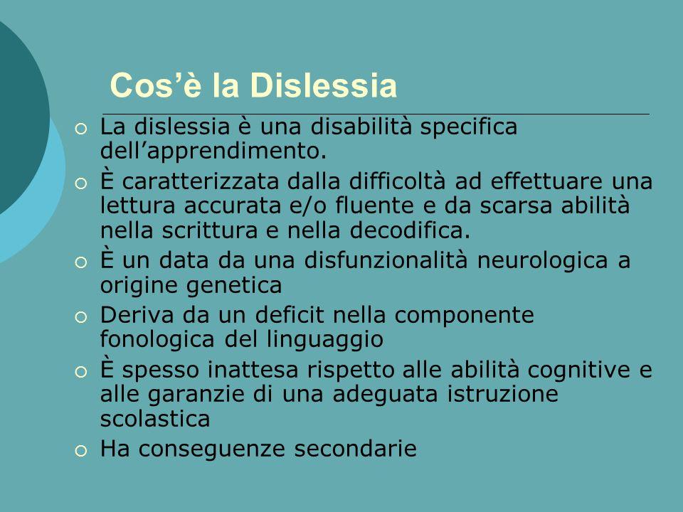 Il Disturbo specifico di lettura La neuropsicologia della dislessia: i sintomi. Dott.ssa M.Teresa Zanella