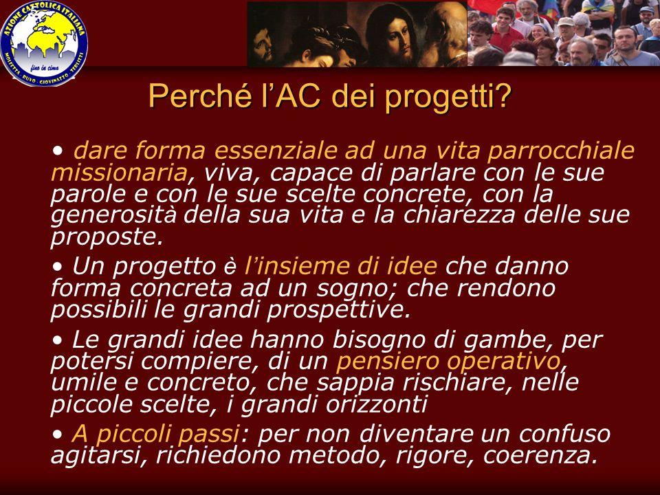5 Perché lAC dei progetti.