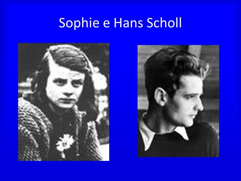 Sophie e Hans Scholl