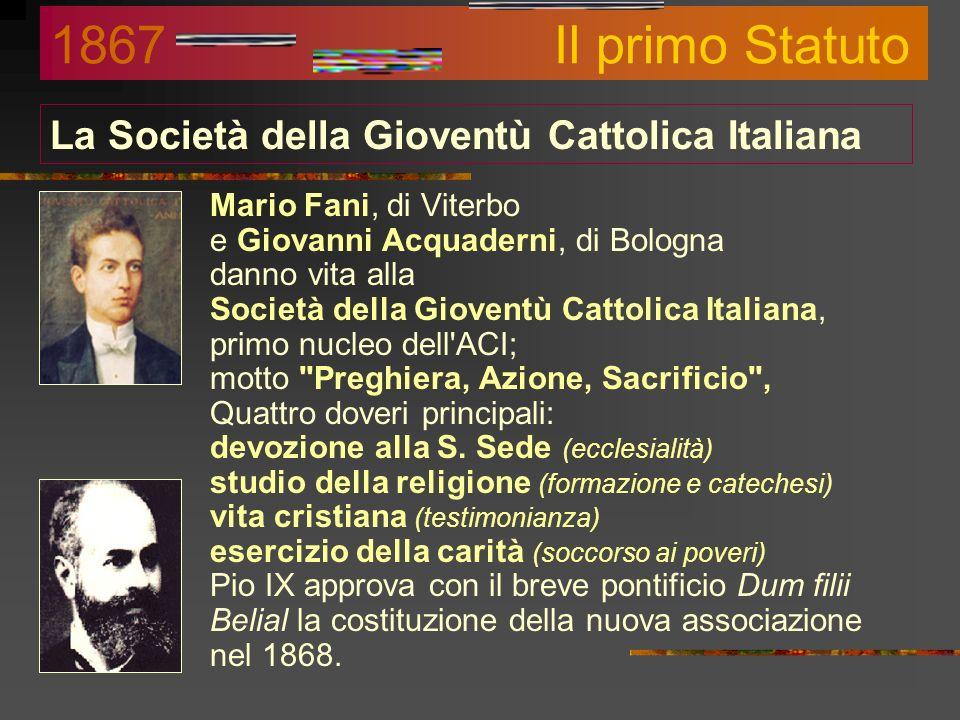 Serve ancora lAzione Cattolica? Si !!! Papa: La Chiesa ha bisogno dellAC e del suo carisma e non può farne a meno 2004 Vescovi: Da essa è lecito atten