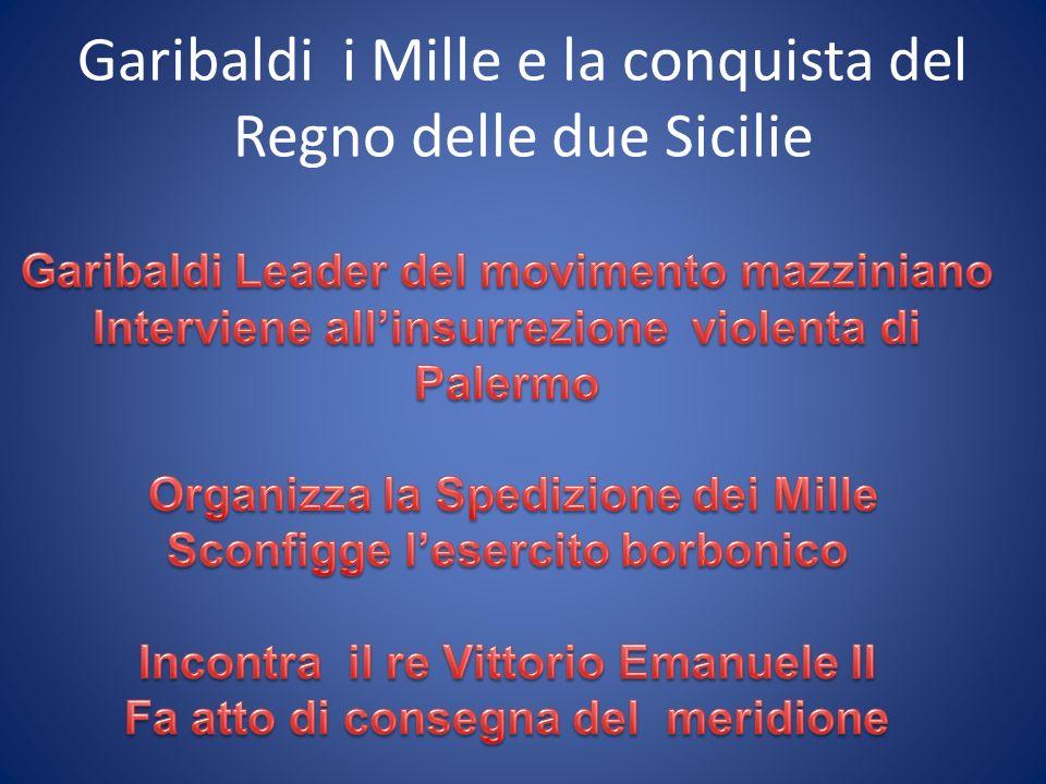 Garibaldi i Mille e la conquista del Regno delle due Sicilie