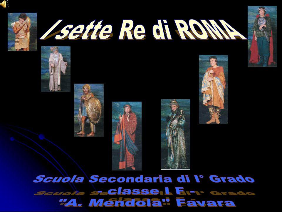 I° Re: Romolo (753-716 a.C.) Dopo la fondazione della città si adoperò per popolarla, offrendo asilo a quanti avessero voluto trovarvi rifugio, e procurando loro delle mogli.