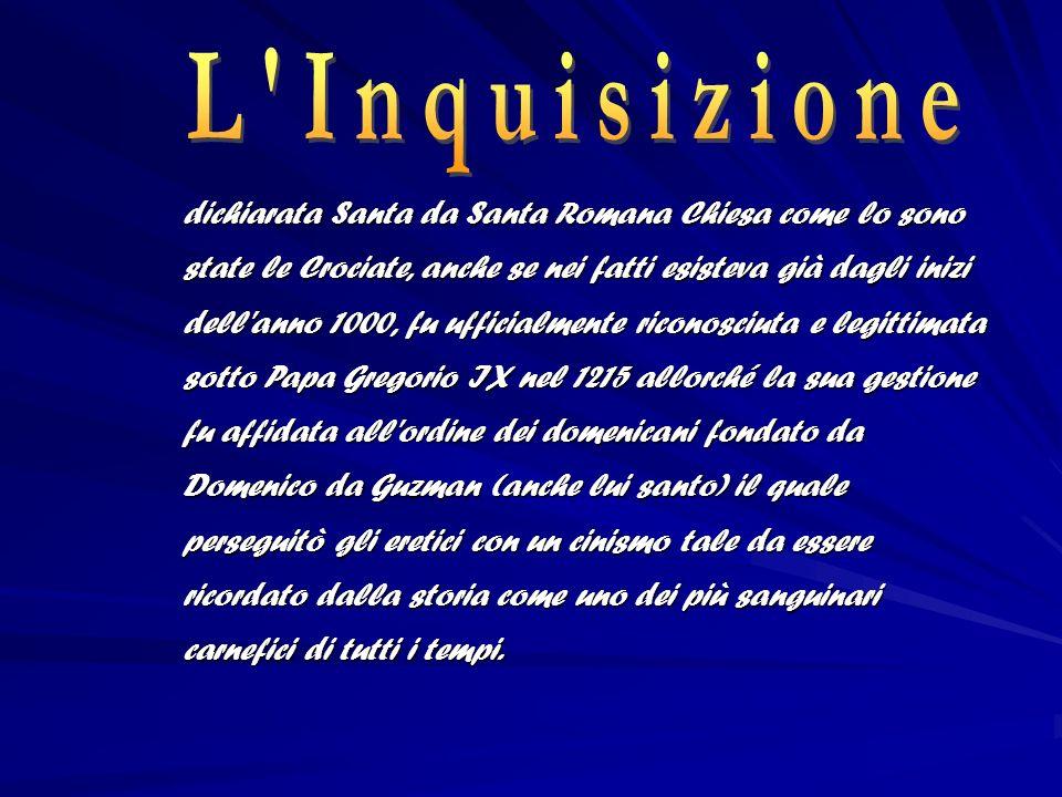 Papa Clemente XII Questo Papa, ripristinando la mazzolatura (rottura delle ossa a colpi di bastone), si dimostrò uno dei più cinici sostenitori dell arte della tortura.