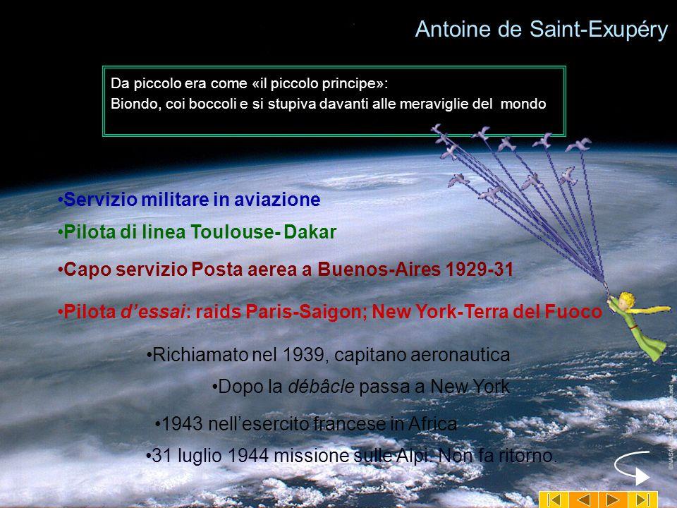 Antoine de Saint-Exupéry Personaggio unico e misterioso