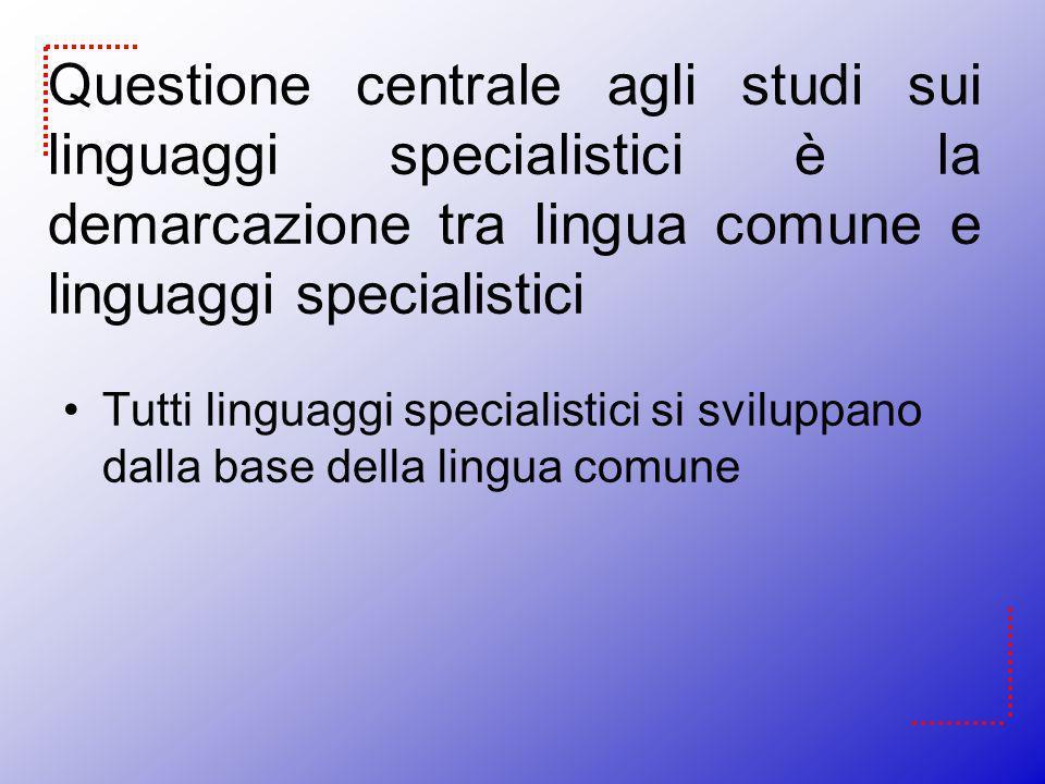 Hoffmann Common language sublanguages