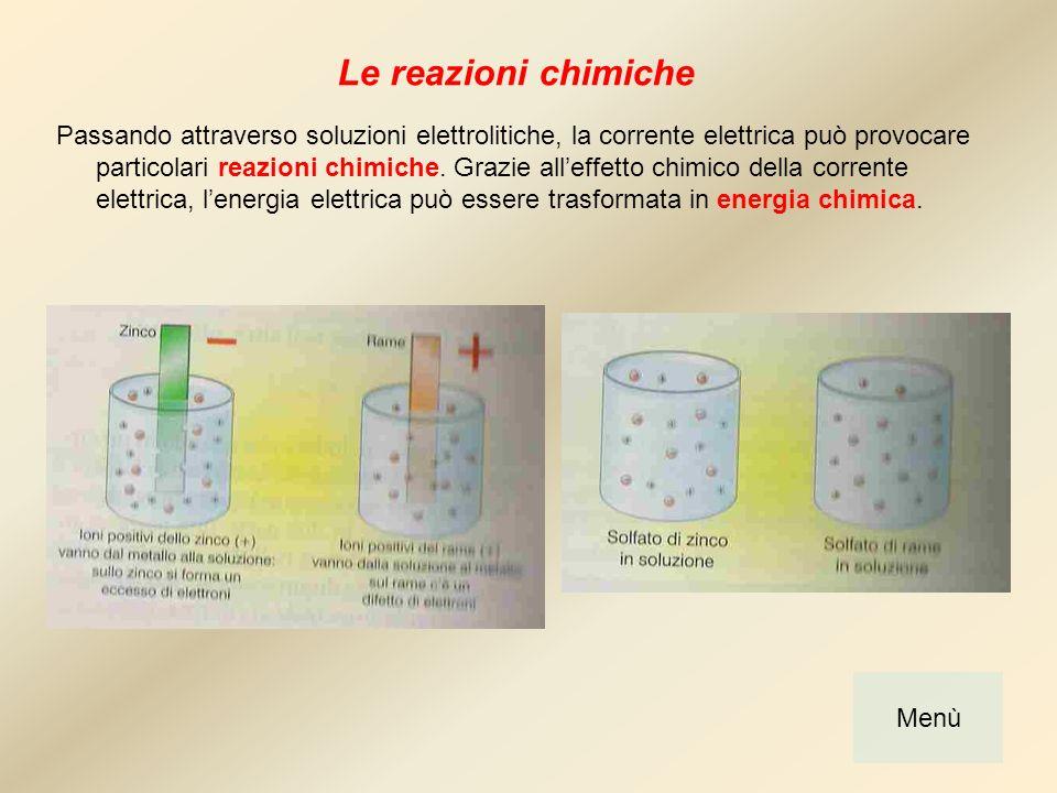 Energia termica Gli elettroni, scorrendo nei conduttori, producono energia termica.