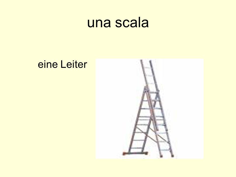 una scala eine Leiter