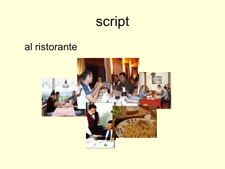 script al ristorante
