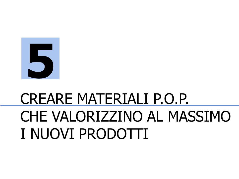 CREARE MATERIALI P.O.P. CHE VALORIZZINO AL MASSIMO I NUOVI PRODOTTI 5