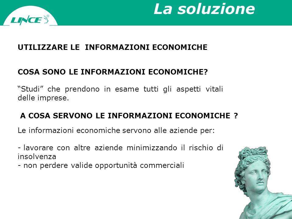Il mercato delle Info Nasce in AMERICA nella metà del 1800; in ITALIA allinizio del 1900 500 aziende fatturano in Italia oltre 130mln 2 aziende controllano oltre il 50% del mercato Multinazionale Americana Altre aziende