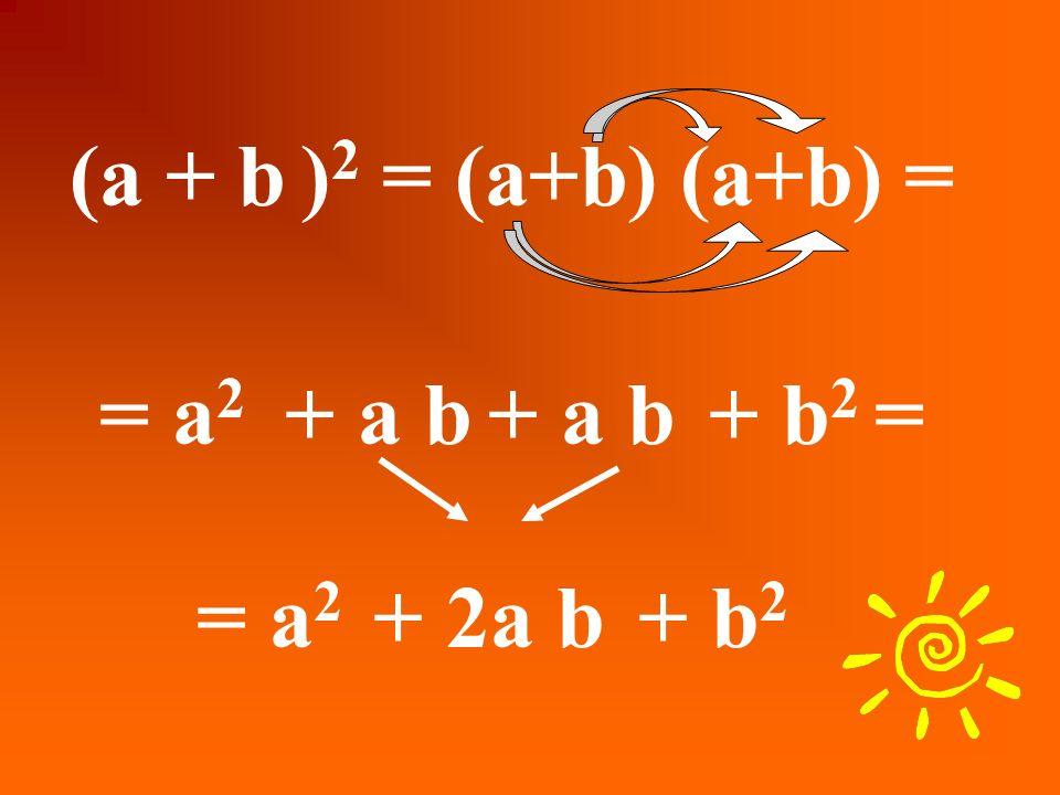(3 + 4 ) 2 = 3 2 + 4 2 Facciamo un esempio s Quindi: 49 =25 Che è chiaramente FALSO