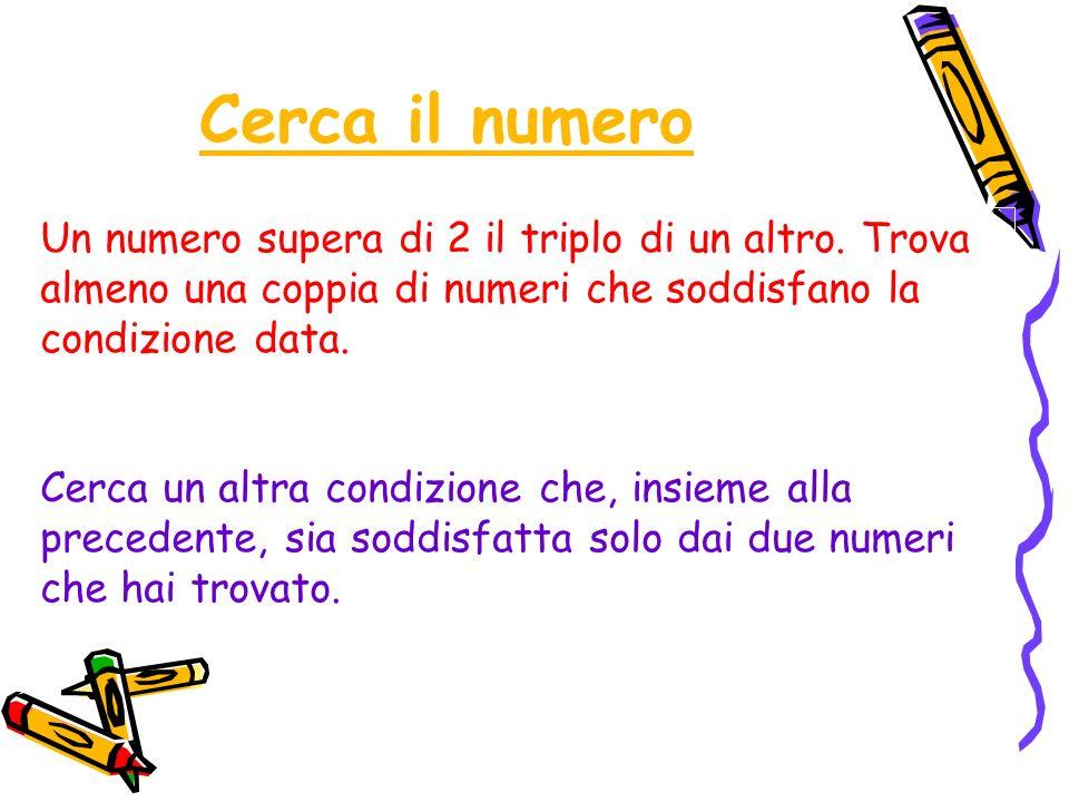 SoluzioneSoluzione La coppia di numeri che soddisfano la condizione data sono 11 e 3.