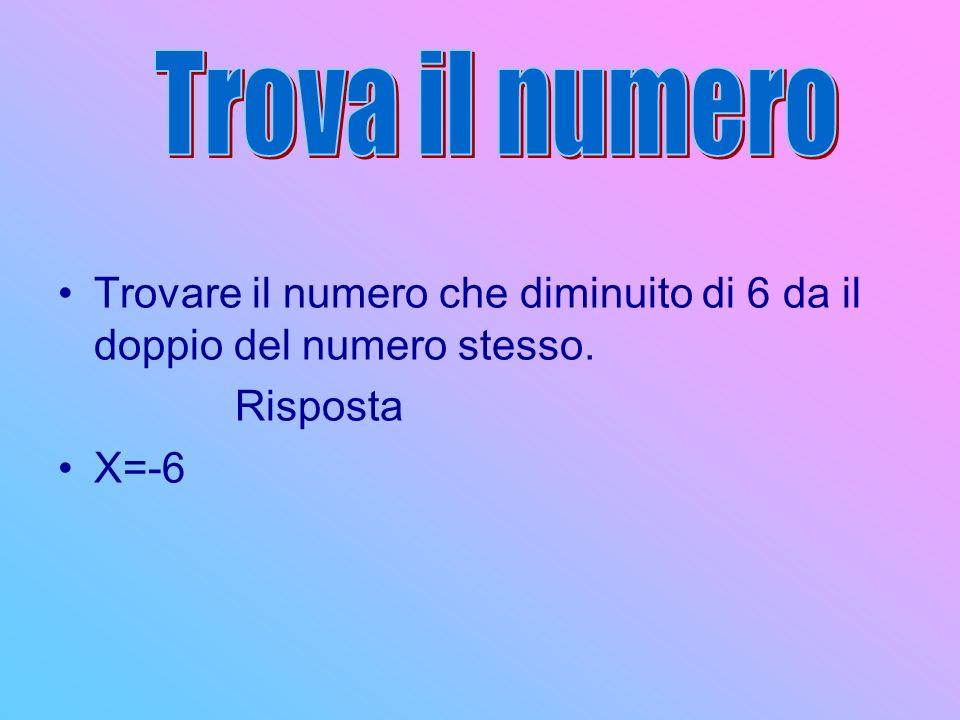 Trova il numero Trovare un numero sapendo che la somma dei suoi 2/3 con il numero 8 è uguale al numero.