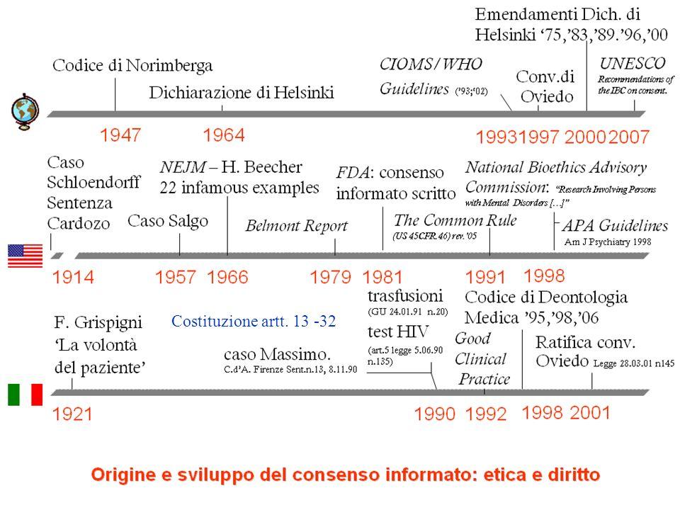 ADO 2009 Mariella Immacolato Costituzione artt. 13 -32