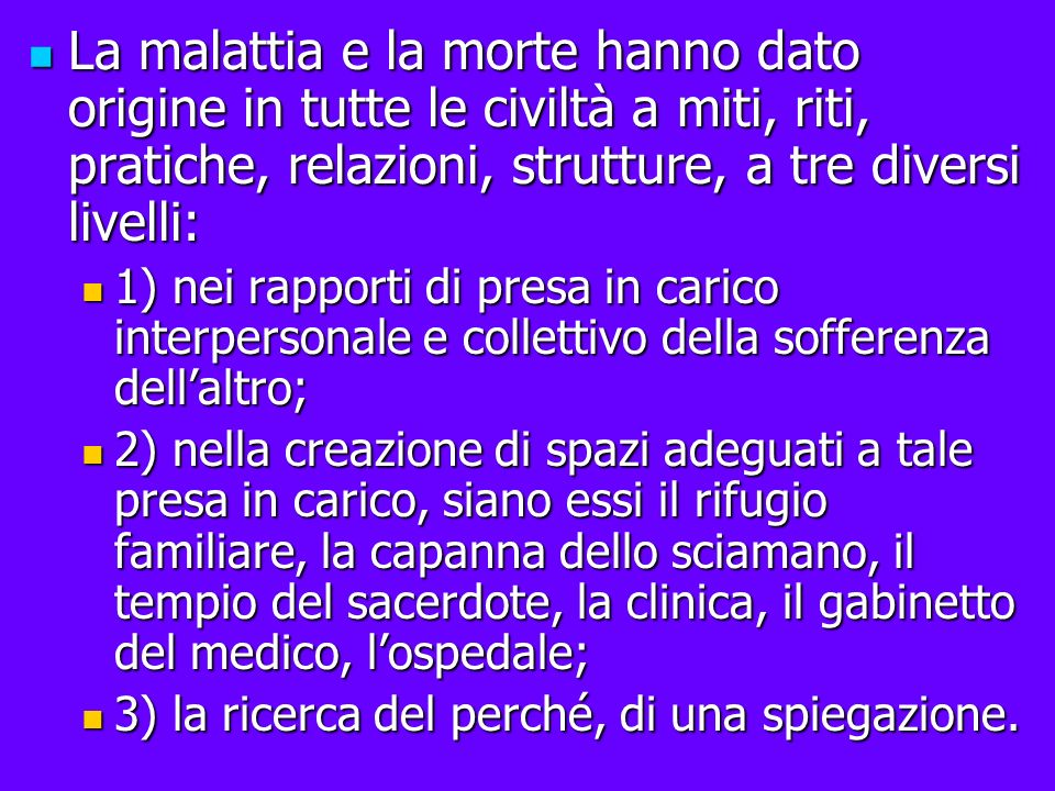MI 30/01/2014 Paradigma ippocratico : schema o orientamento di fondo sotteso alla medicina tradizionale.