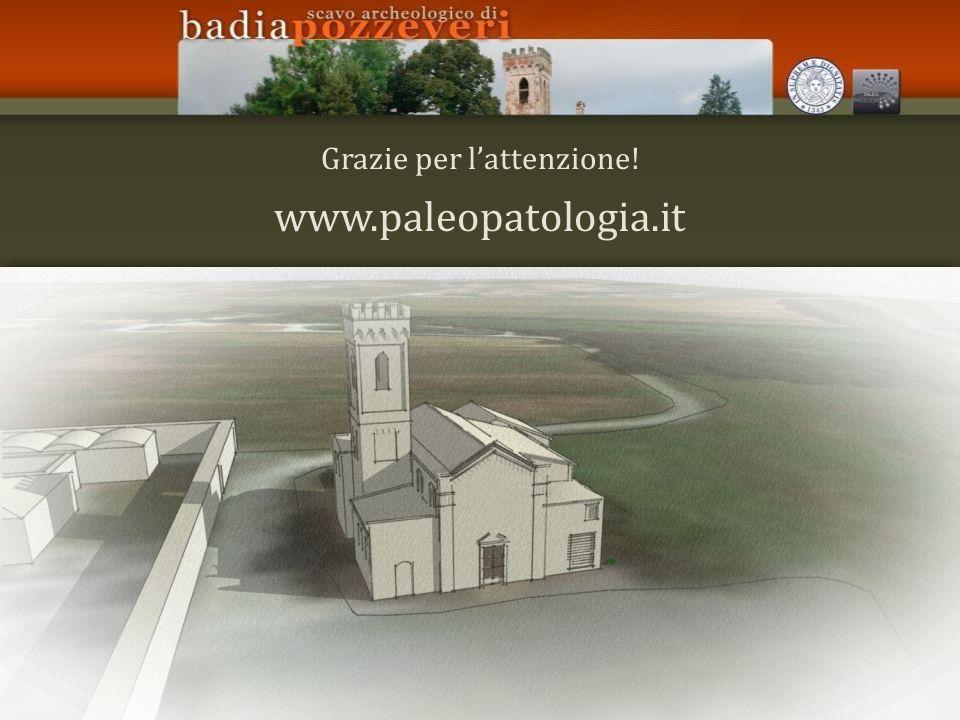 Grazie per lattenzione! www.paleopatologia.it