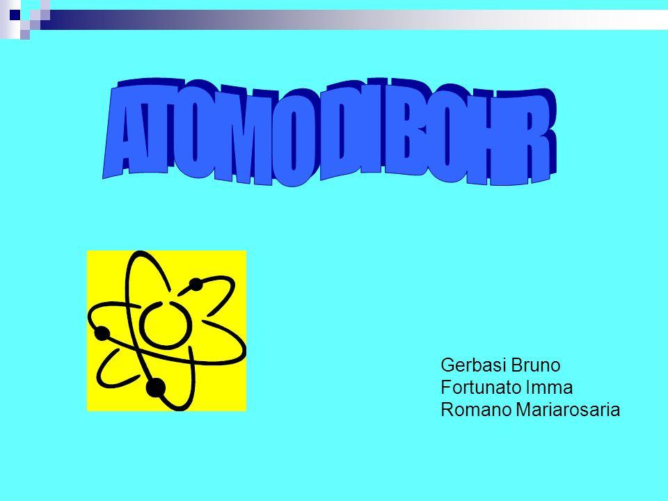 Abbiamo progettato una lezione sull atomo di Bohr rivolta ad un 5^ liceo scientifico.