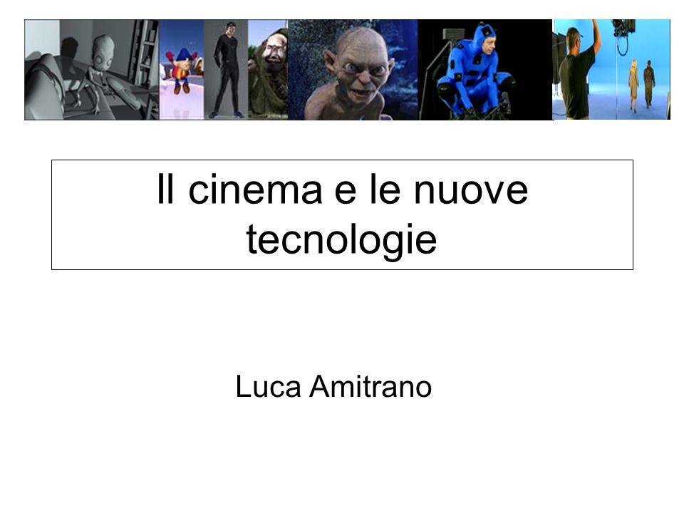Il cinema, nella sua storia, ha attraversato diverse fasi e periodi, che l hanno portato dai primi rudimentali esperimenti dei fratelli Lumière ai moderni film, ricchi di computer grafica ed effetti speciali