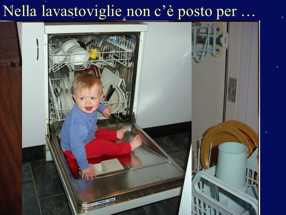 Nella lavastoviglie non cè posto per …