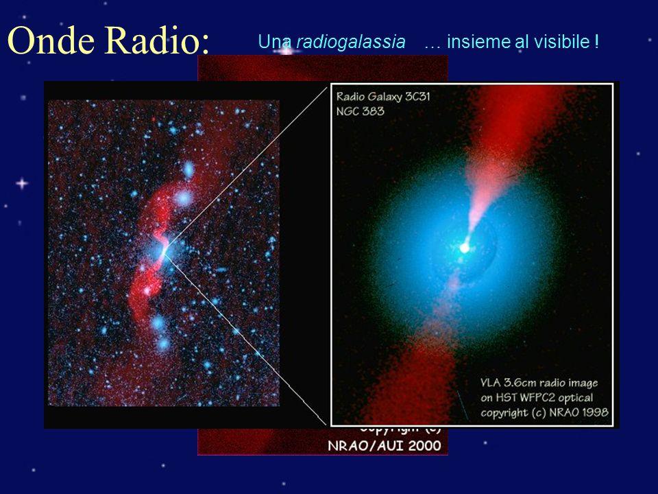 Onde Radio: Una radiogalassia… insieme al visibile !
