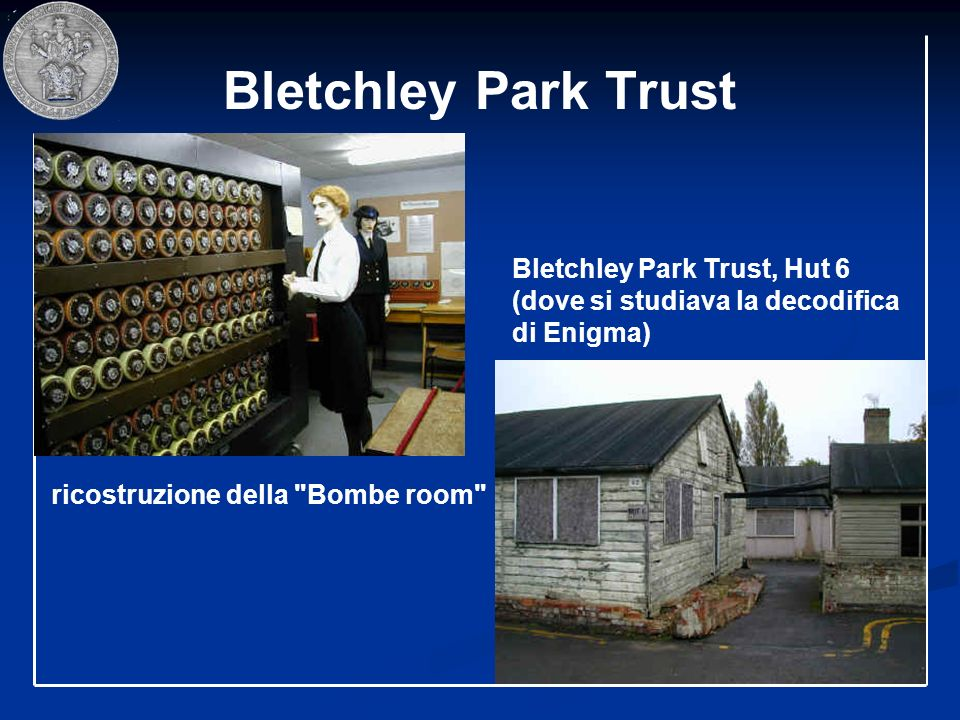 Bletchley Park Trust ricostruzione della