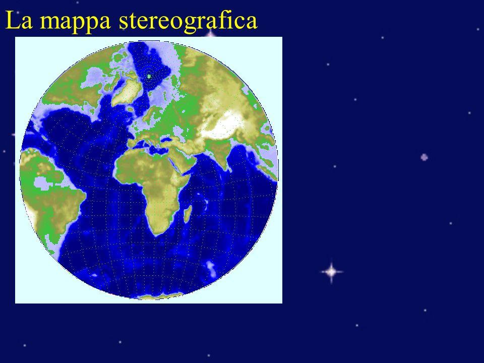 La mappa stereografica