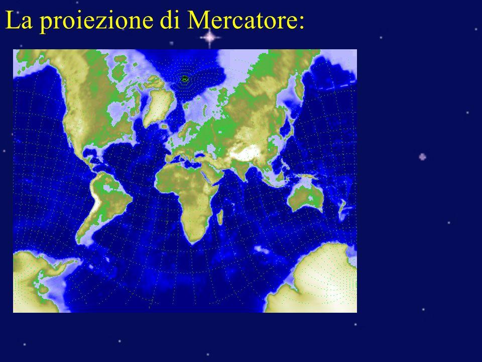 La proiezione di Mercatore: