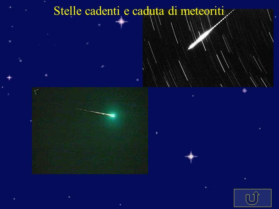 Stelle cadenti e caduta di meteoriti