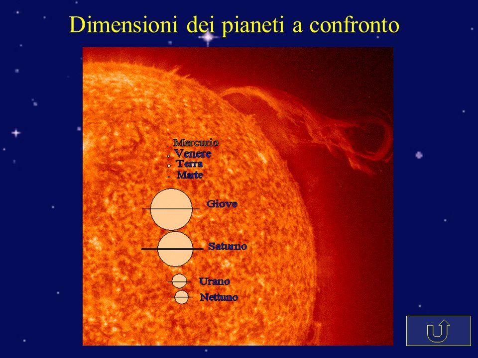La Struttura del Sole Protuberanza Fotosfera (granuli) Macchia solare Cromosfera Filamento Buco coronale Pennacchio coronale Nucleo Zona radiativa Zona convettiva