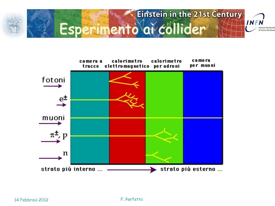 Esperimento ai collider 14 Febbraio 2012 F. Perfetto
