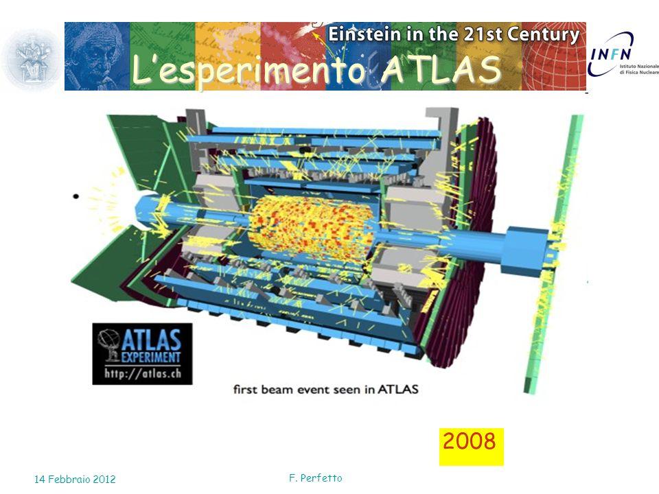 2008 Lesperimento ATLAS 14 Febbraio 2012 F. Perfetto