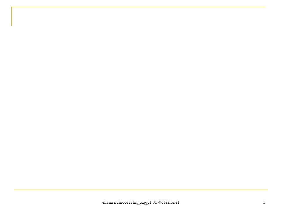 eliana minicozzi linguaggi1 05-06 lezione1 1